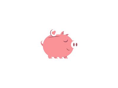 fund coins like piggybank bank piggy pig logotypedesign logotype logo