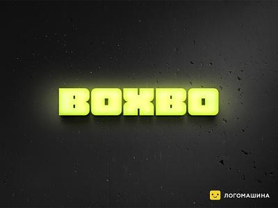 Boxbo box delivery font logodesign logotypedesign logotype logo
