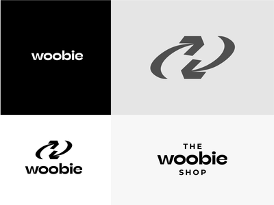Woobie logo concept icon logodesign logotype logo recycle