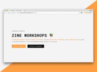 Placeholder's Zine Workshops