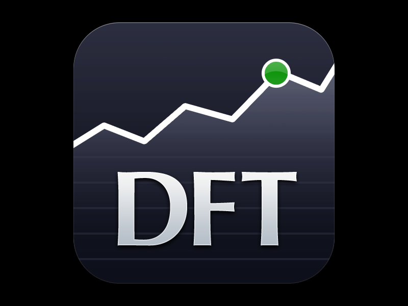 DFT Icon ios icon graph financial