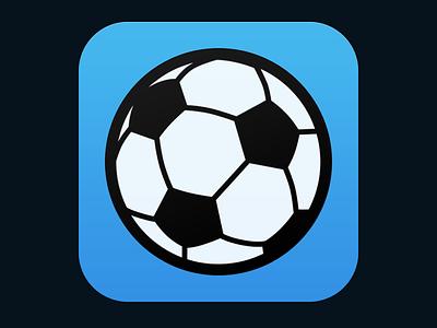 Soccer News App Icon sports soccer icon app ios wip