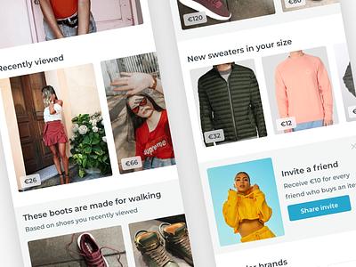 Fashion Marketplace iphone 10 explore home clothing invite mobile iphone tags marketplace feed fashion
