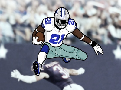 Air-Zekiel cowboys dallas nil ezekiel football