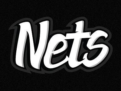 Nets Graffiti graffiti lettering hand lettering graffiti brooklyn nets