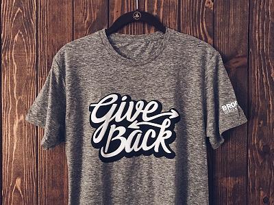 Give Back graffiti brooklyn community logo give back