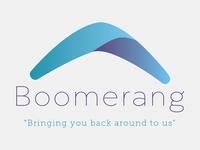 Second Boomerang Logo Concept