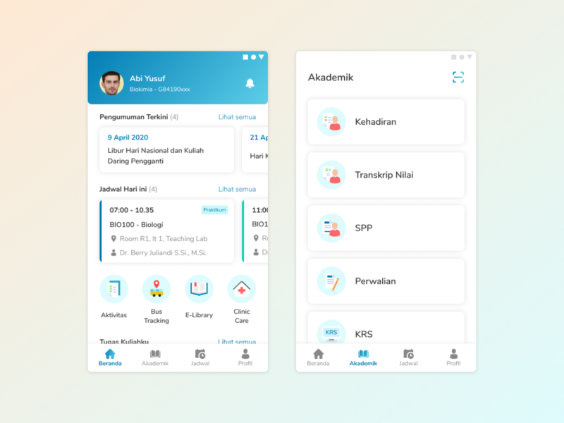 [Mobile Apps] Redesign IPB Mobile redesign design ui mobile app design mobile app ui design