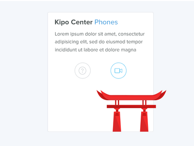 Kipo Center Phones