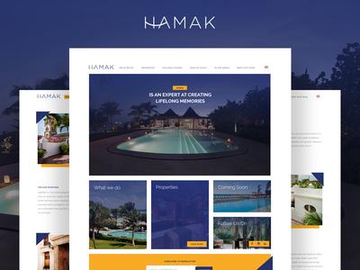 Hamak Website