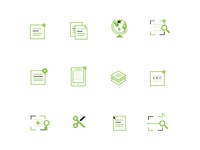 Attached icons