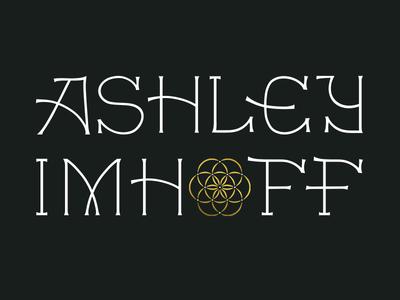Ashley Imhoff Massage Logo Lockup