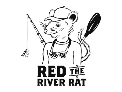 Red The River Rat WIP