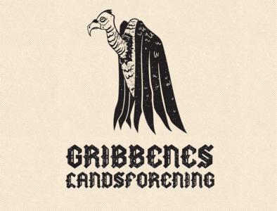 Vulture Logo vector character design art graphic design logo gritty texture animal bird metal black logotype illustration logo design graphic design logo vulture