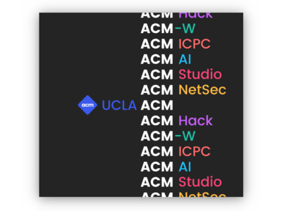 UCLA ACM: Our communities