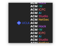 UCLA ACM: Our communities