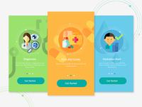 Health app onboarding