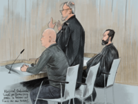 Courtroom sketch bank robbery