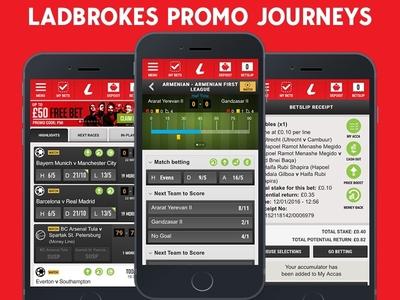 Ladbrokes Promo Journeys