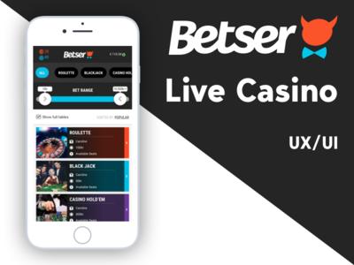 Betser Live Casino
