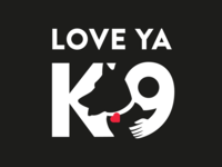 LOVE YA K9 Logo
