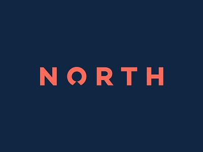 Logotype for North identity logo branding