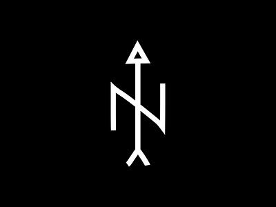 North concept identity logo branding