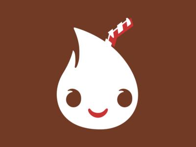 Logo for Chocolate Milk identity logo branding