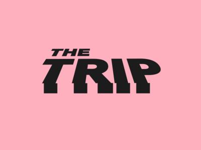 The Trip trip logo wordmark