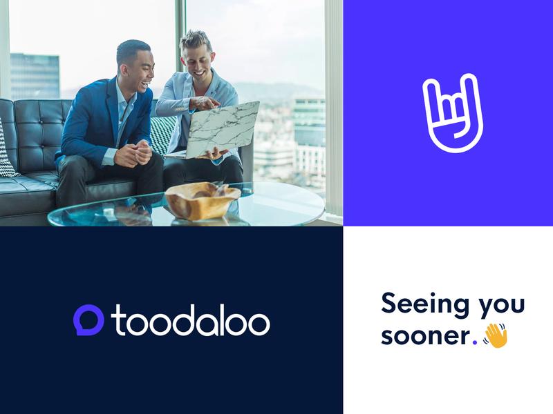 Toodaloo - Brand Identity app startup simple modern logo internet branding brand and identity