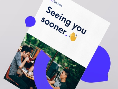 Toodaloo - Promotional Branding flyer promotional modern logo internet startup simple brand and identity branding
