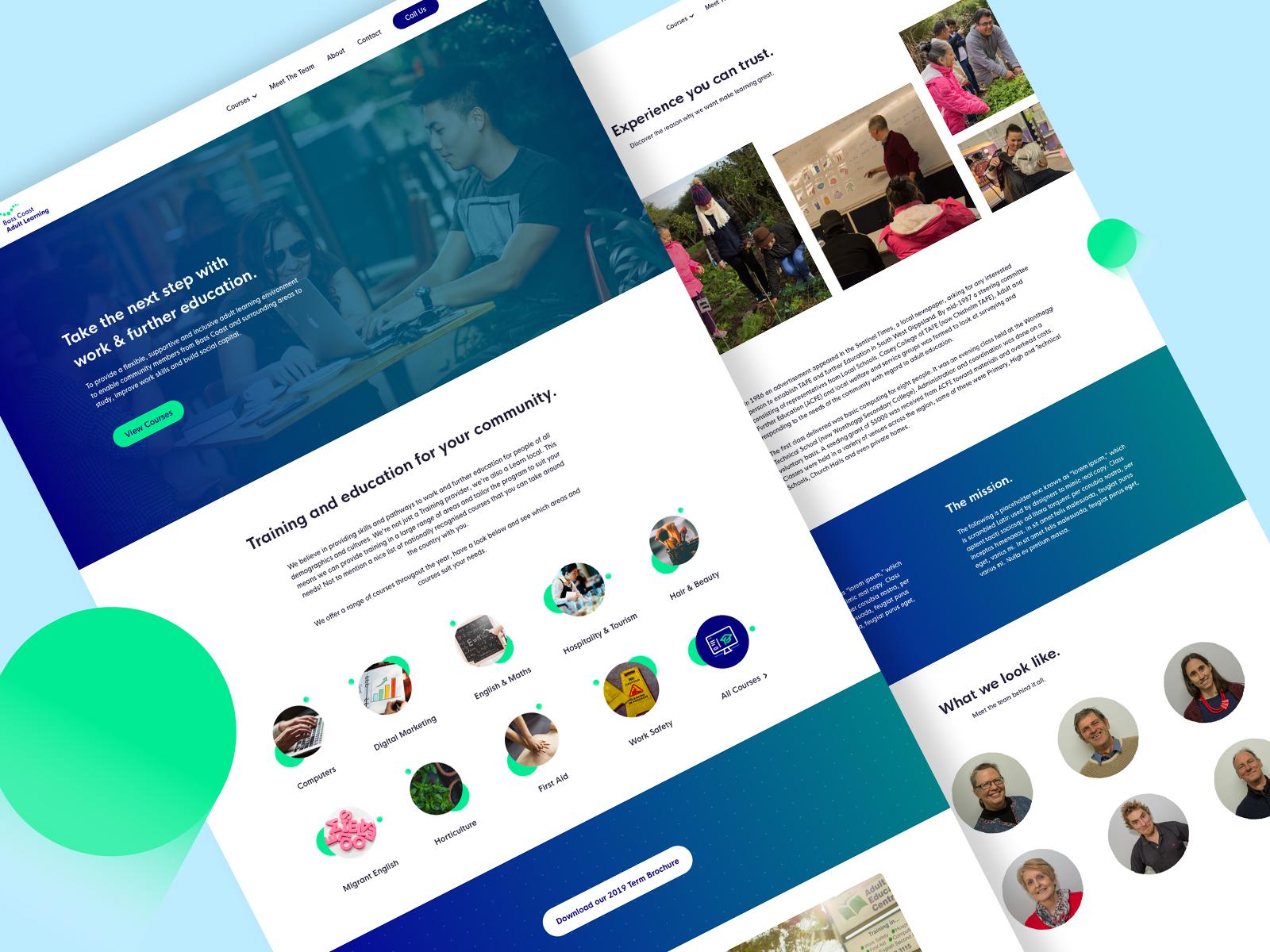 Bcal website