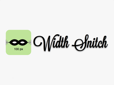 """Width Snitch"" Icon"