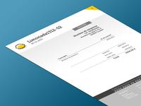 Sidiostedalimones Invoice V2 redesign invoice