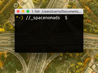 New shell prompt text icon oneeyedman prompt terminal fish shell