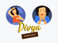 Divya : Character Ideation