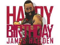 Happy birthday, James Harden!