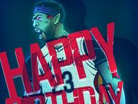 Happy birthday, Anthony Davis!