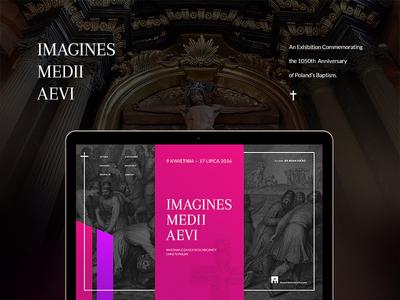 Imagines Medii Aevi - webdesign