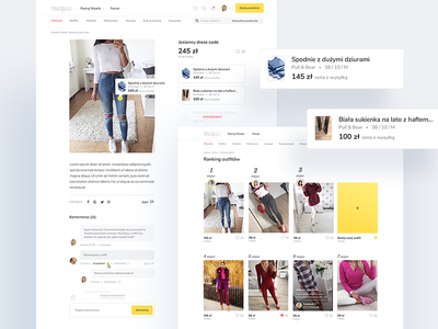 Wearly - outfits 👗👡👛 yellow website secondhand outfit clothes
