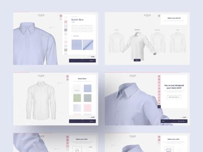 Digital shirt configurator 👕