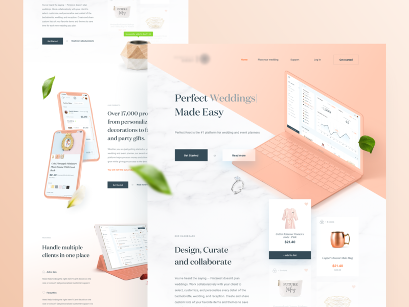 Wedding Planner – New Landing Page 👰🤵🥂