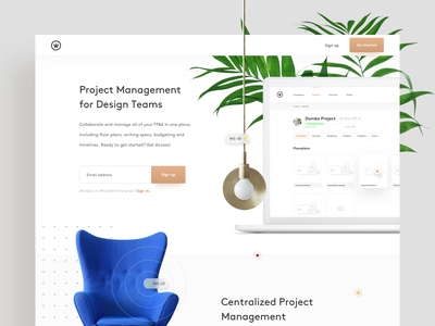Furniture, fixtures, and equipment 🛋 - Landing page planning furniture landing pages interior design minimal clean ui
