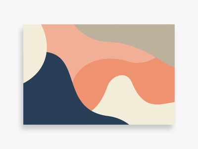 Flying Colors 05 minimal background pattern colorful abstract illustration