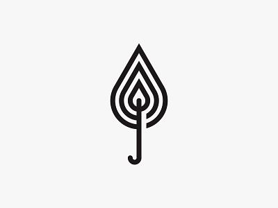 Torch 2 torch fire minimal clean modern icon simple logo
