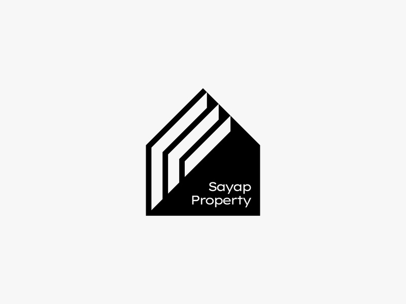 Sayap property architecture building home nature minimal clean modern icon simple logo