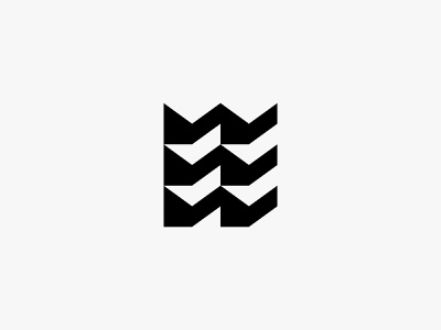 Enter Estate 2 building real estate house abstract minimal clean modern icon simple logo