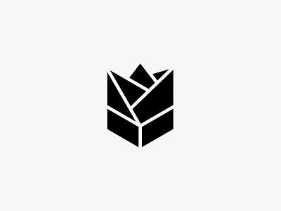 Amorose flower rose nature minimal clean modern icon simple logo