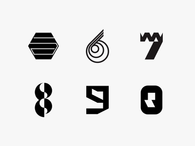 36daysoftype 6 36daysoftype letterform minimal clean modern icon simple logo