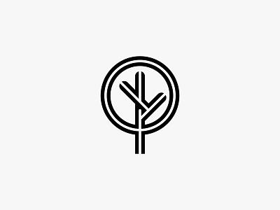 twistree 2 twist tree nature minimal clean modern icon simple logo
